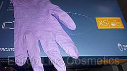 Нитриловые перчатки Nitrylex Classic, сиреневый, размер XS (100 шт.в уп.)