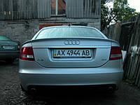 Спойлер Ауди А6 С6 (2004 - ) на крышку багажника