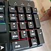 Клавиатура с цветной подсветкой USB UKC HK-6300 для ПК, фото 8
