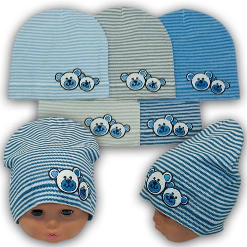 Весенняя шапка ребенку, р. 42-44