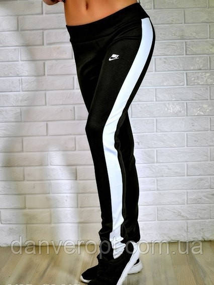 Спортивные штаны женские стильные NIKE размер S-XL купить оптом со склада 7км Одесса