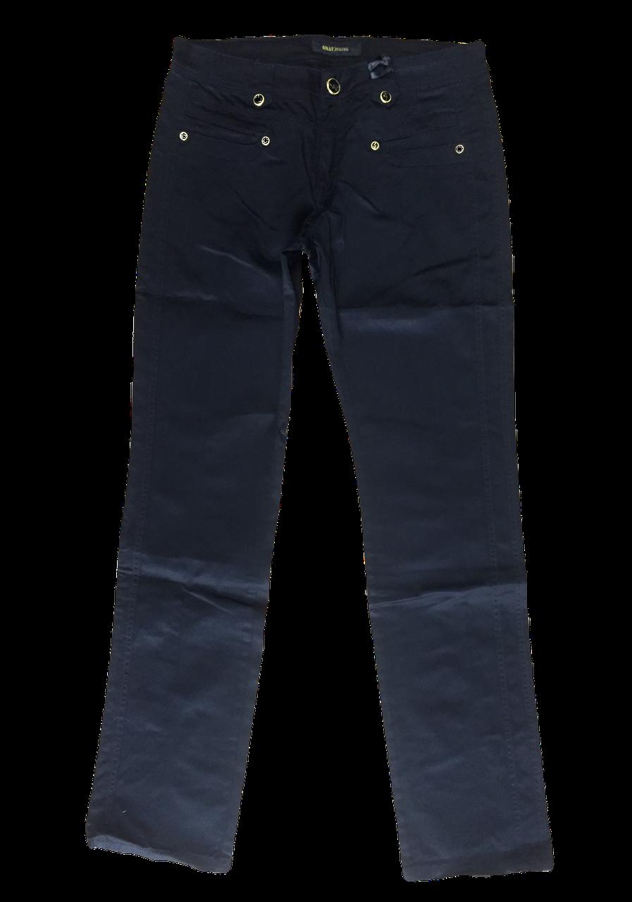 Батальные чёрные женские джинсы OMAT 9479