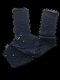 Батальные чёрные женские джинсы OMAT 9479, фото 2