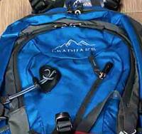 Универсальный мужской городской рюкзак Lead Hake с металлическим каркасом +  чехол- дождевик LeadHake a3074f801532e