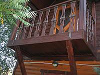 Балконы под старину.