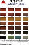 Пигмент для бетона. SPECTRUM - Красный кирпичный SR-110 (Гонконг) ОРИГИНАЛ!, фото 2