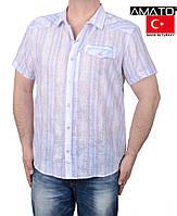 Распродажа мужских рубашек на короткий рукав.Качество.Большие размеры.