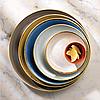 Тарелка прямоугольная 30х15 см. керамическая, бежевая Stonecast White Speckle, Churchill, фото 4