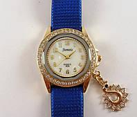 Часы женские наручные Jumeis J806 синие с золотом, фото 1