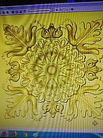 Декоративний дерев'яний елемент «Розетка»