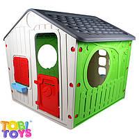 Дитячий будиночок для ігор в саду, фото 1