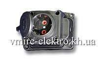 Колодка электрическая С/З (каучуковая) 16 А Fetih F 221 K