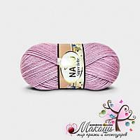 Детская пряжа Super bebe Супер бэби Нако, №11626, розово-сиреневый