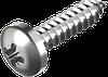 Шуруп универсальный, закругленная цилиндрическая головка, крест. шлиц (ROZIDRIV) ГОСТ 1144-80