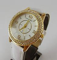 Часы Zhouwei 012858 женские белые с золотом, фото 1