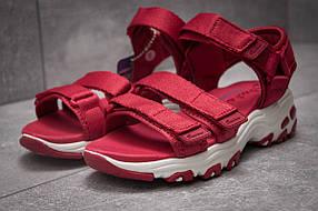 Сандалии женские Skechers D'Lites, красные (13602),  [  36 (последняя пара)  ]
