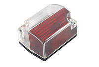 Габаритный фонарь (54х40мм) белый-красный