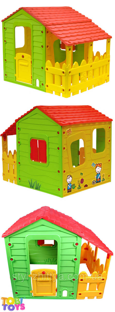 Дитячий садовий будинок з прибудовою