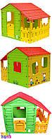 Дитячий садовий будинок з прибудовою, фото 1