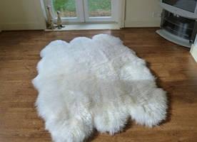 Килим з 6-х овечих шкур (овчини)
