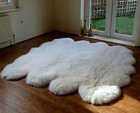 Ковер из 8-х овечьих шкур (овчины), фото 1