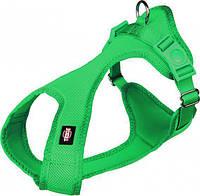 Шлея Trixie Comfort Soft Touring Harness для собак нейлоновая, 25-35 см петроль