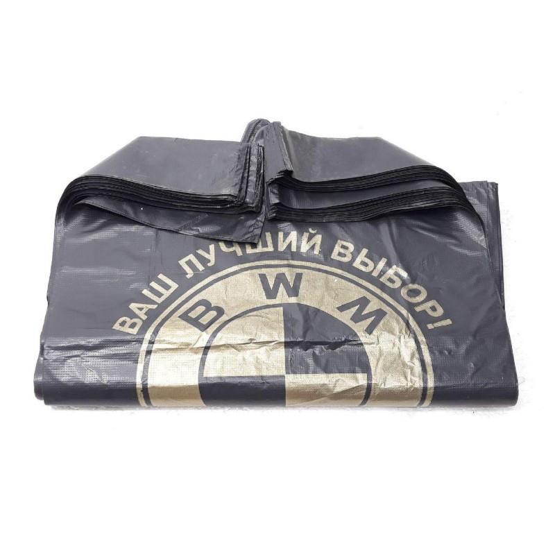 Пакеты полиэтиленовые BMW/BWM 25кг 58 х 37см 100шт