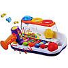 Развивающий ксилофон с молоточком и разноцветными шариками, фото 3