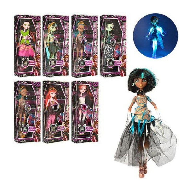 Кукла Monster High 5018-BL 27см 8 видов