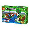 "Конструктор Minecraft ""Ферма с водопадом"" Lele 33184 267 деталей, фото 3"