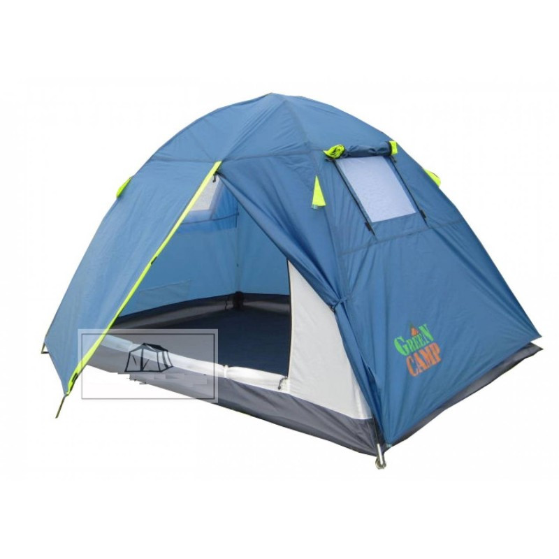 Палатка двухместная Green Camp 1001B