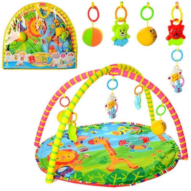 Коврик для младенца 518-17 80х64см