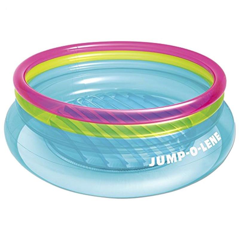 Детский надувной батут от 3 до 6 лет Jump-O-Lene Intex 48267NP 203см