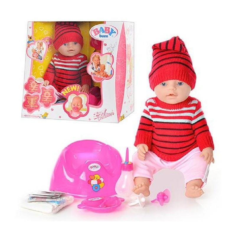 Кукла Пупс BB 8001 G 42 см