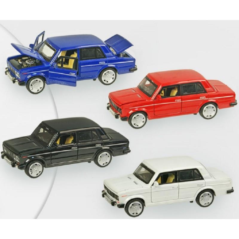 Машина металлическая Жигули 611А (4 цвета)