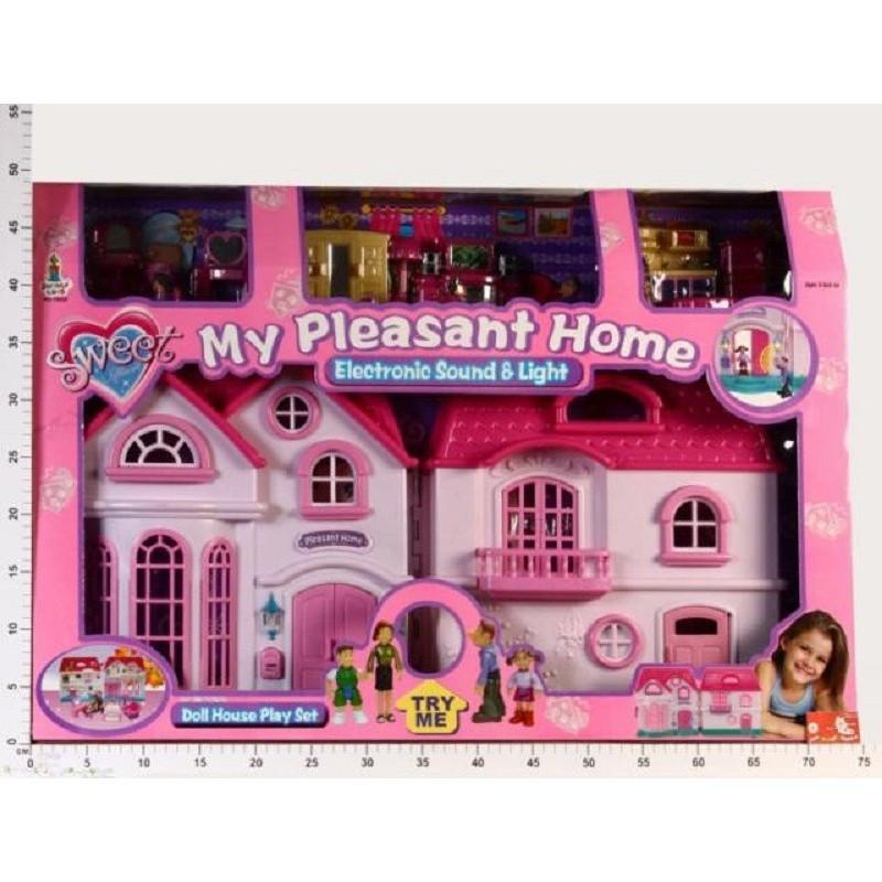 """Большой кукольный домик """"Моя семья"""" 16428"""