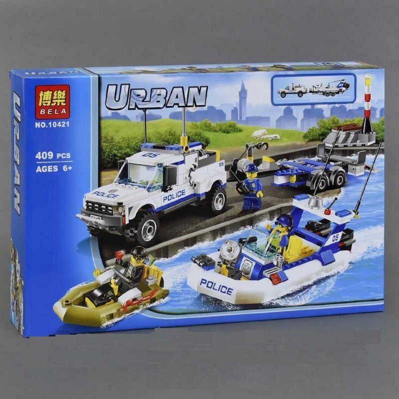 """Конструктор """"Полицейски патруль"""" Bela Urban 10421 409 деталей"""