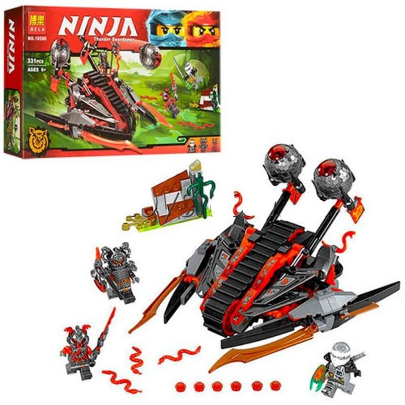 """Конструктор """"Алый захватчик"""" Bela Ninja 10580 331 деталей"""
