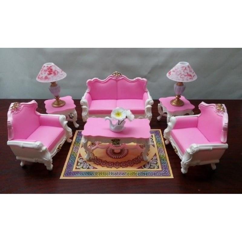 Мебель для кукол Gloria 2317 Гостиная