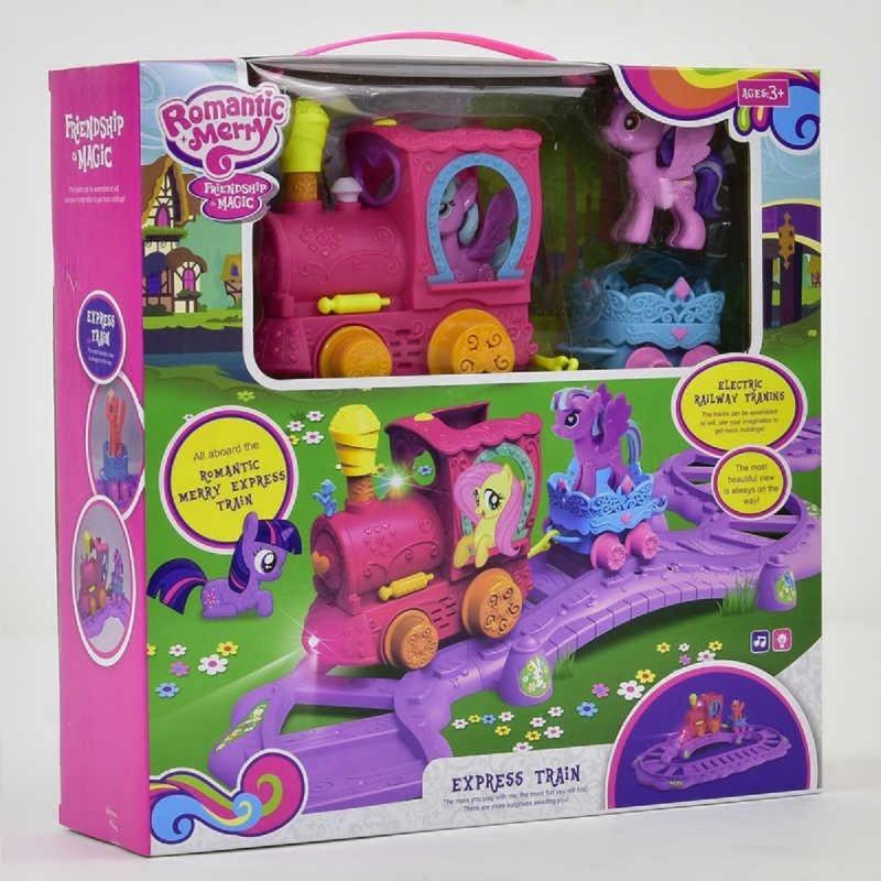 """Игровой набор со звуком и светом Поезд """"My Little Pony"""" 88360"""