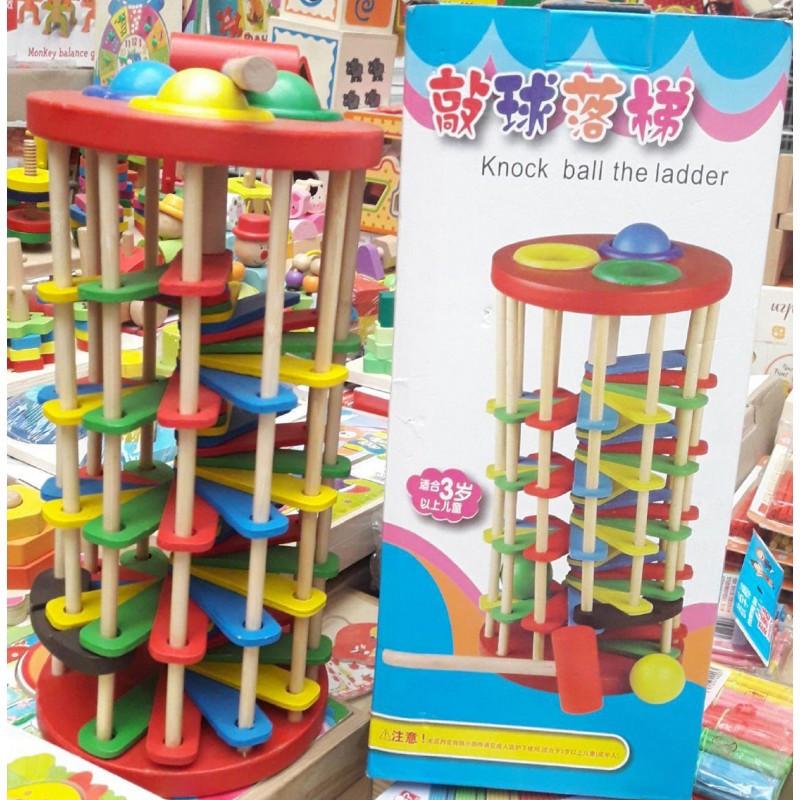 Деревянная игрушка Стучалка QZM-0205 молоточек
