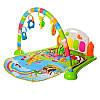 Детский музыкальный коврик 6016-2 для младенца 74х53см, фото 2