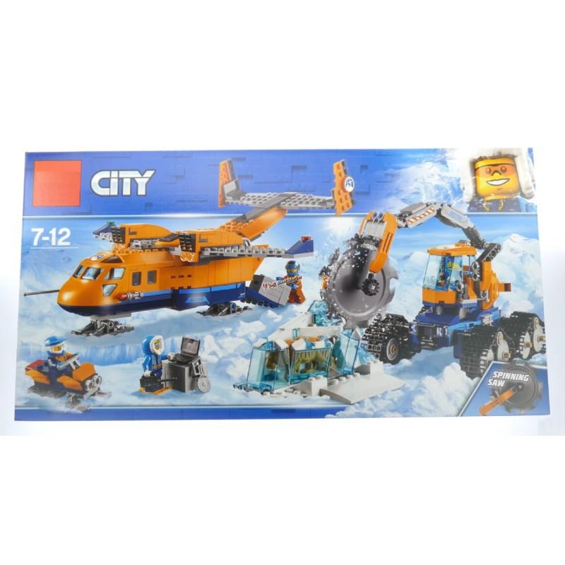 """Конструктор """"Арктический грузовой самолёт"""" Lepin Cities 02112 791 деталь"""