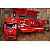 "Конструктор ""Speed Champions Ferrari F14 и грузовик-трейлер Scuderia Ferrari"" Lepin 21010 914 деталей, фото 4"