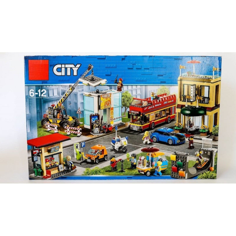"""Конструктор """"Столица"""" Lepin 02114 City 1356 деталей"""