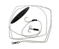 Сомовая оснастка Flagman Cat Fish Rig Single & Trible Hooks Float 2/0 - 6/0