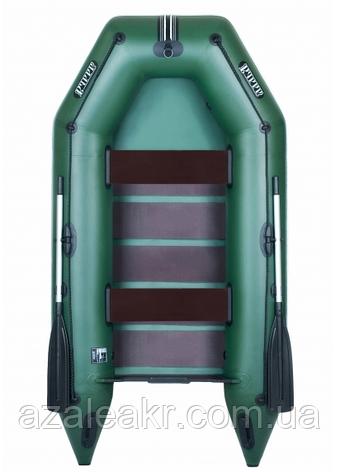 Надувная лодка Ладья ЛТ-290МВЕ со сланью-книжкой и передвижным сиденьем, фото 2