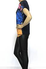 Футболка жіноча масло з принтом  , фото 2