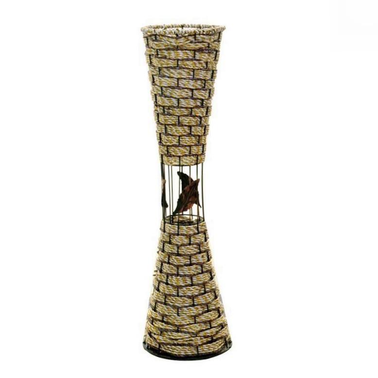 Напольная плетеная ваза из роганта