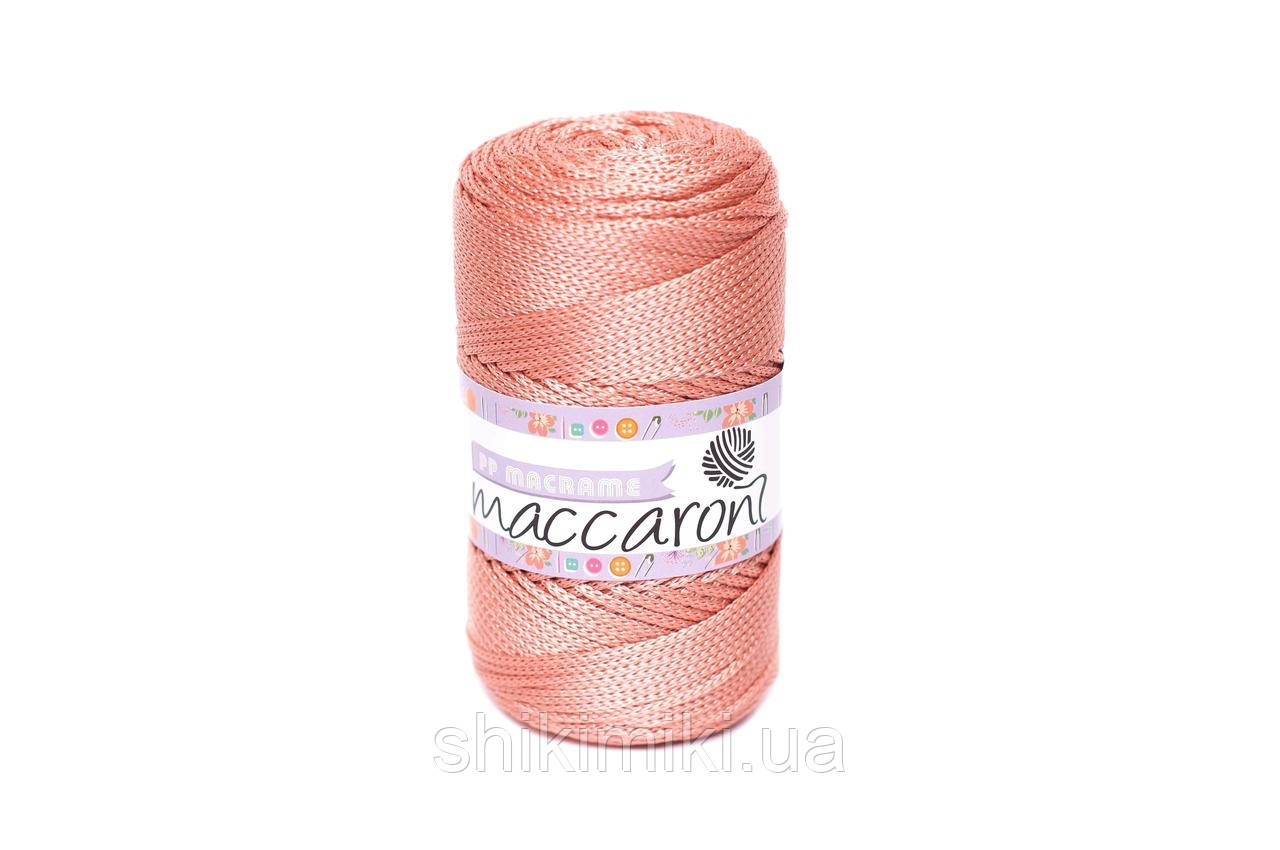Трикотажный полипропиленовый шнур PP Macrame, цвет Чайная роза